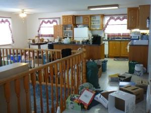 kitchen/dining room/living room -- DISASTER!