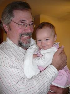 """Grandpa and """"all"""" of hs grandchildren!"""