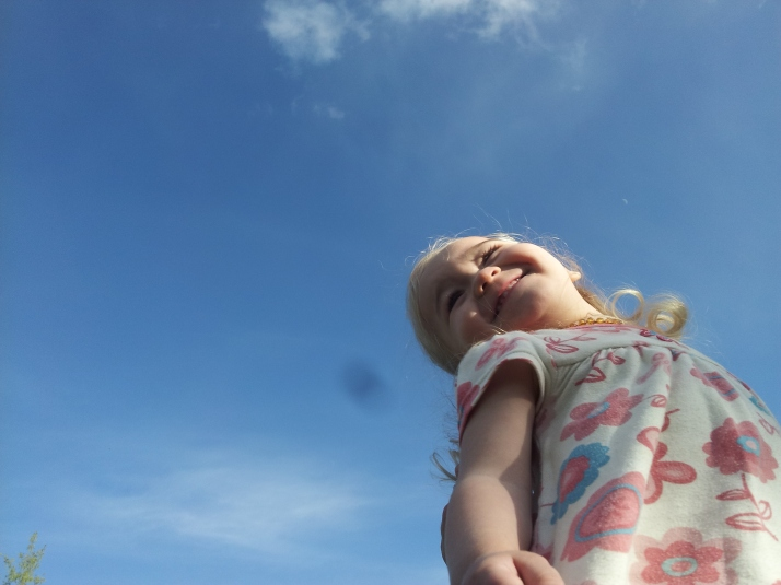 Blue skies and happy smiles